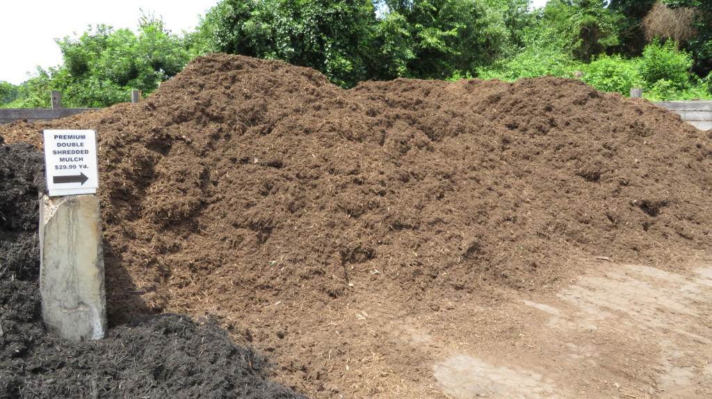 brown mulch