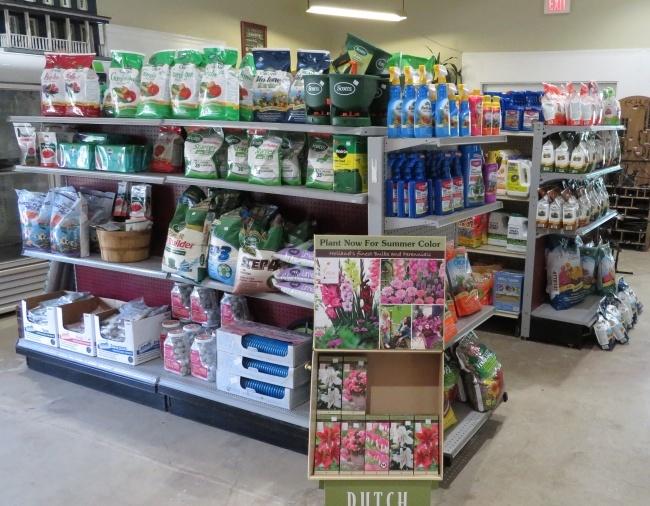Garden Center - Fertilizers & Sprays