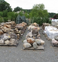 rocks and boulders nursery landscspe