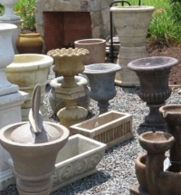 landscape pots and urns