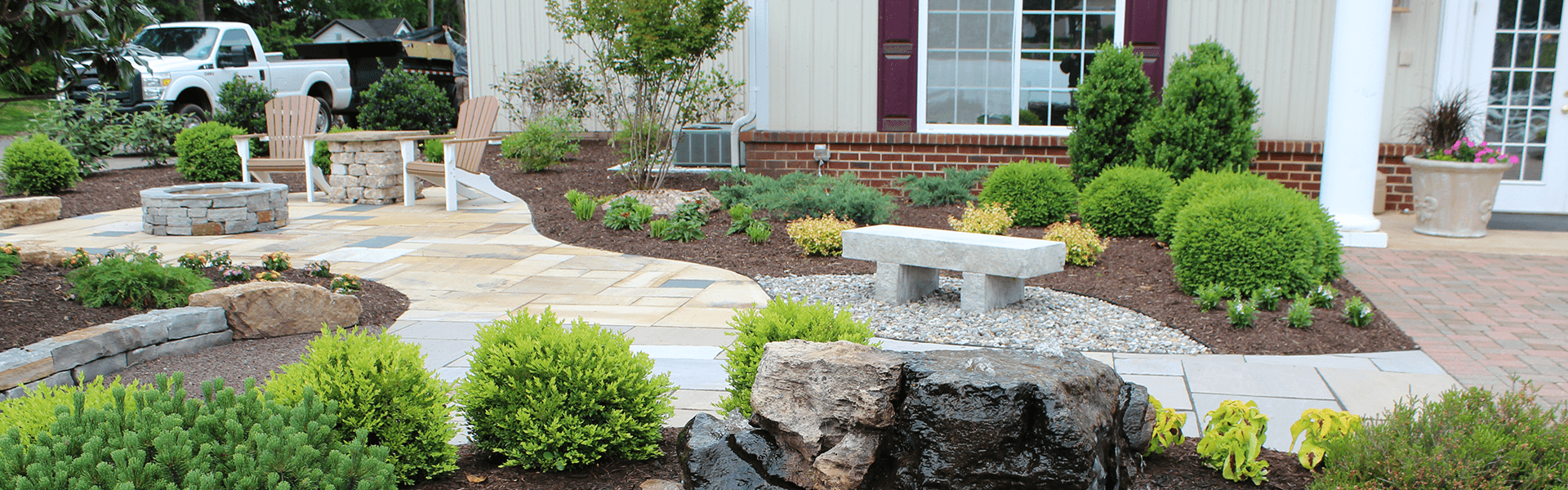 Brighten Your Space with Hardscape & Landscape from Lee Highway Nursery